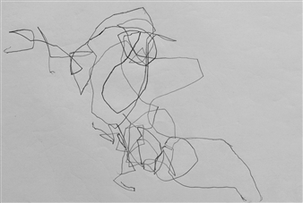 "VvA-P Pencil on Paper 12"" x 16.5"""