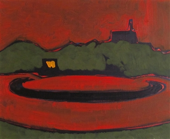 Night Roundabout