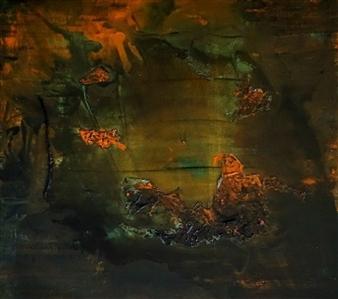 """Hidden Beauty Acrylic on Canvas Board 25.5"""" x 25.5"""""""