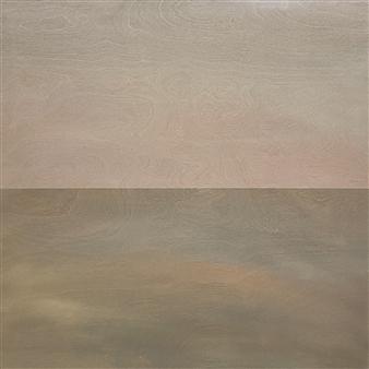 """Silence at Dawn  (Silence at Dusk) Acrylic on Wood Panel 24"""" x 24"""""""