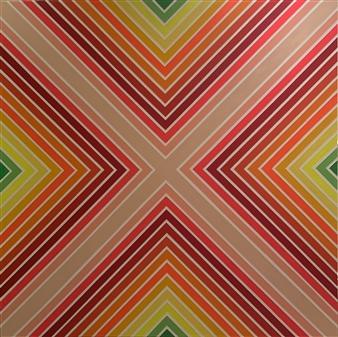 "Super Brite Acrylic on Canvas 72"" x 72"""