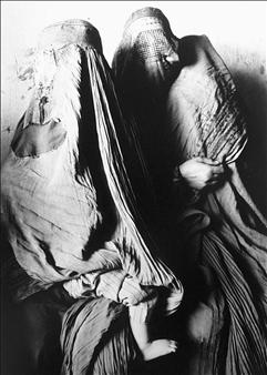"face of woman op 9 Photogram-Lambda Print 39.4"" x 23.6"""