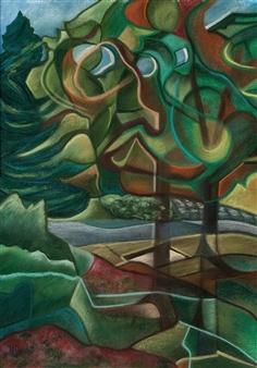 """Autumn Aura Pastel on Paper 19.5"""" x 14"""""""