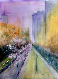 """Metropolis Oil on Canvas 48"""" x 36"""""""