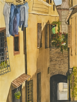 Street in Montepulciano