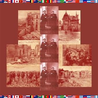"""War Scenes  (Belgium) n°1 Photographic Print on Fine Art Paper 20"""" x 20"""""""