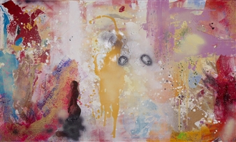 """More Than Words Oil & Acrylic on Canvas 36"""" x 60"""""""
