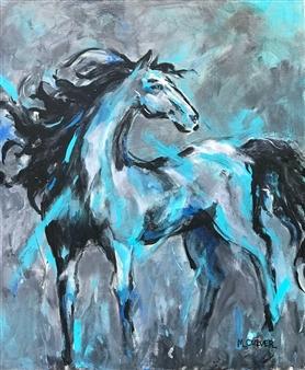 "Evening Shade Acrylic on Canvas 24"" x 20"""