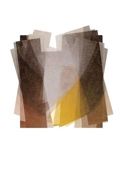 "Implosion Digital Print on Paper 28"" x 20"""