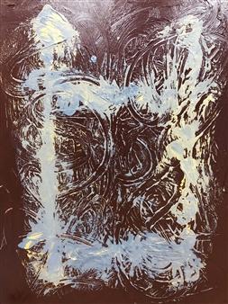 "Bridge Path Acrylic on Canvas 51"" x 39.5"""