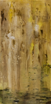 """Earth Bound Oil on Canvas 60"""" x 30"""""""