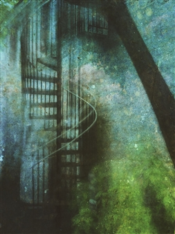 """Stair #8 Archival Pigment Print 17"""" x 11"""""""
