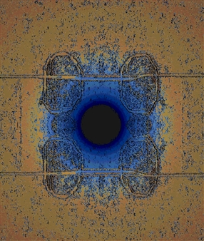 "Centerland Digital Artwork on Canvas 24"" x 20"""