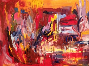 """A Week in February Oil on Canvas 36"""" x 48"""""""