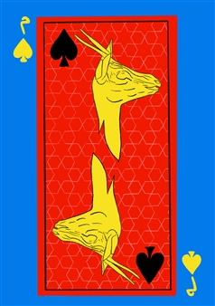 Yellow Gazelle of Spades