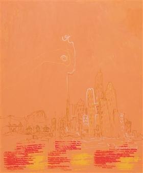 "Upper Hand 4 Acrylic on Canvas 35.5"" x 29.5"""