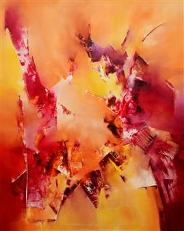 """Kamikaze Oil on Canvas 39.5"""" x 31.5"""""""