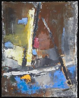 """No. 6 Acrylic, Oil & Mixed Media on Canvas 39"""" x 31.5"""""""