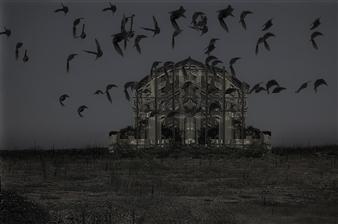 "The Haunted House Digital C-Print 16"" x 21"""