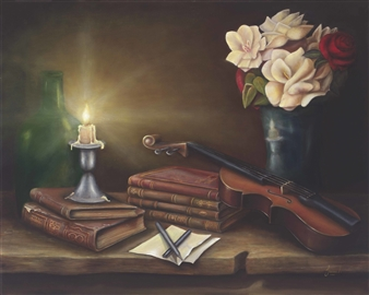 Candle for the Writer