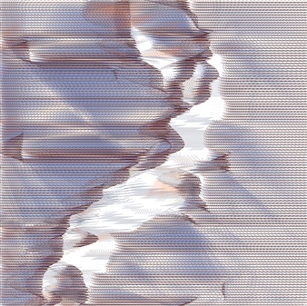 "Quakes 46, 1/6 Fine Art Digital Print 38"" x 38"""