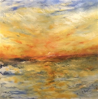 """Resilience Oil on Canvas 30"""" x 30"""""""