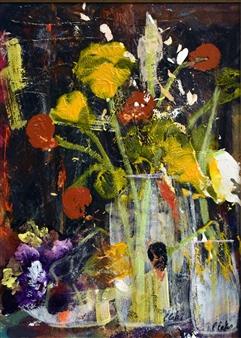 "Splash of Color Acrylic on Canvas 16"" x 12"""