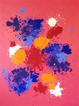 "Love Oil on Canvas 72"" x 54"""