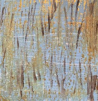 """The Marsh Acrylic on Canvas 4"""" x 4"""""""