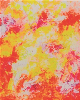 "Upper Hand 2 Acrylic on Canvas 35.5"" x 29.5"""