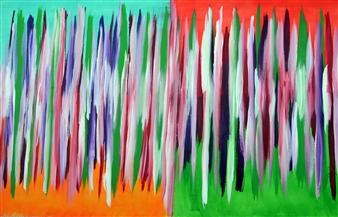 "Jesolo I Acrylic on Canvas 31.5"" x 51.5"""