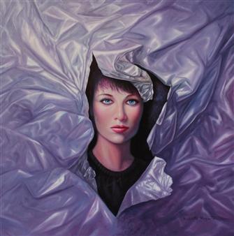 """Diana Oil on Canvas 28"""" x 28"""""""