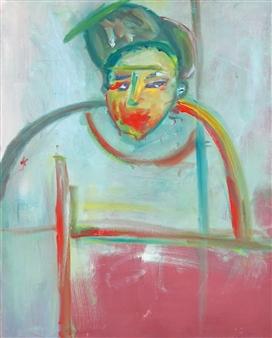 """Bad Boy Oil on Canvas 30"""" x 24"""""""