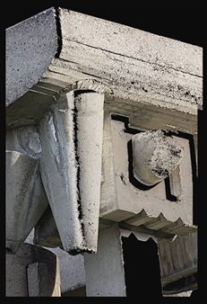 Cement Sculpture Abstract-24