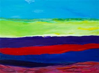 """Horn Island #1 Oil on Canvas 36"""" x 48"""""""