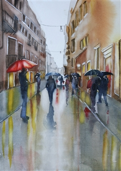 Rainy Day In Rome 2