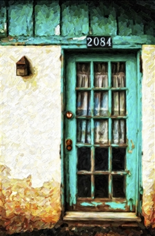 Turquoise Door