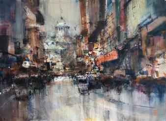 """Reflejos Watercolor 20"""" x 27.5"""""""