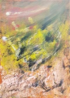 "Vegetation Acrylic on Canvas 27.5"" x 19.5"""