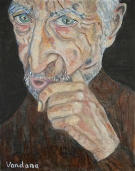 "Oy! Oil on Canvas 20"" x 16"""
