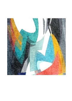 "Flow 3 Digital Print on Paper 28"" x 20"""