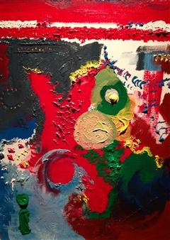 "The ShakeDown Acrylic on Canvas 18"" x 24"""