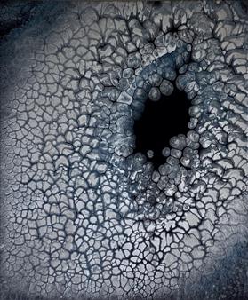 "Eye of the Storm Acrylic on Canvas 24"" x 20"""