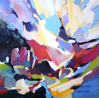 """King of Fools Acrylic on Canvas 18"""" x 18"""""""