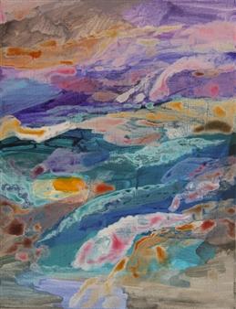 "Dreamy Acrylic on Canvas 18"" x 14"""