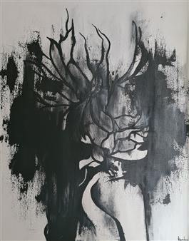 """Phoenix Acrylic on Canvas 23.5"""" x 16"""""""