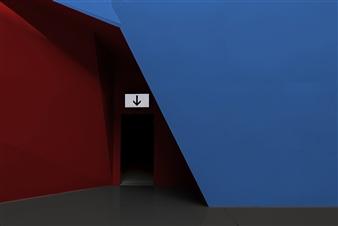 """Angled Door  0"""" x 0"""""""