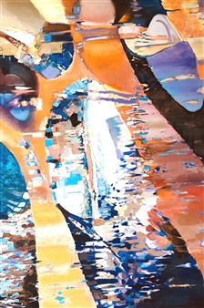 """Nirvana Oil on Canvas 72"""" x 48"""""""