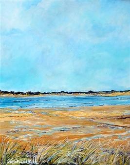 "Northam Burrows Acrylic on Canvas 20"" x 16"""