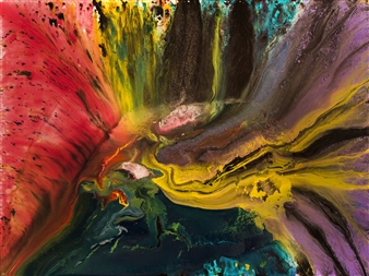 "Untitled 35 Giclee Print 36"" x 48"""